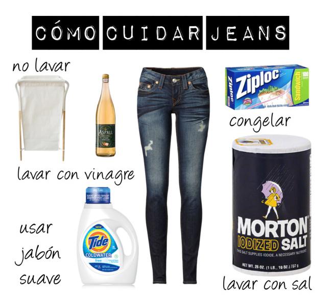 Cómo cuidar tus jeans