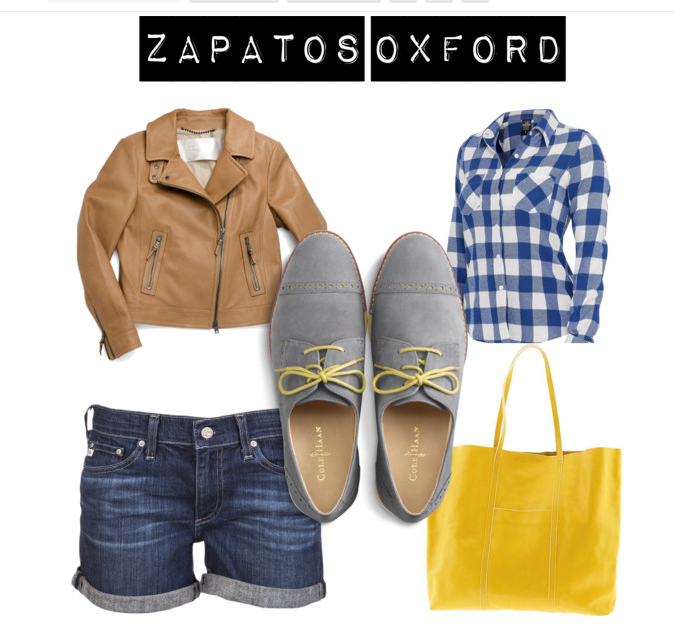 Tendencia: Zapatos oxford