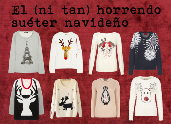 El (ni tan) horrendo suéter navideño