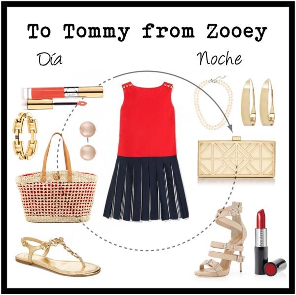 To Tommy from Zooey, de día y de noche