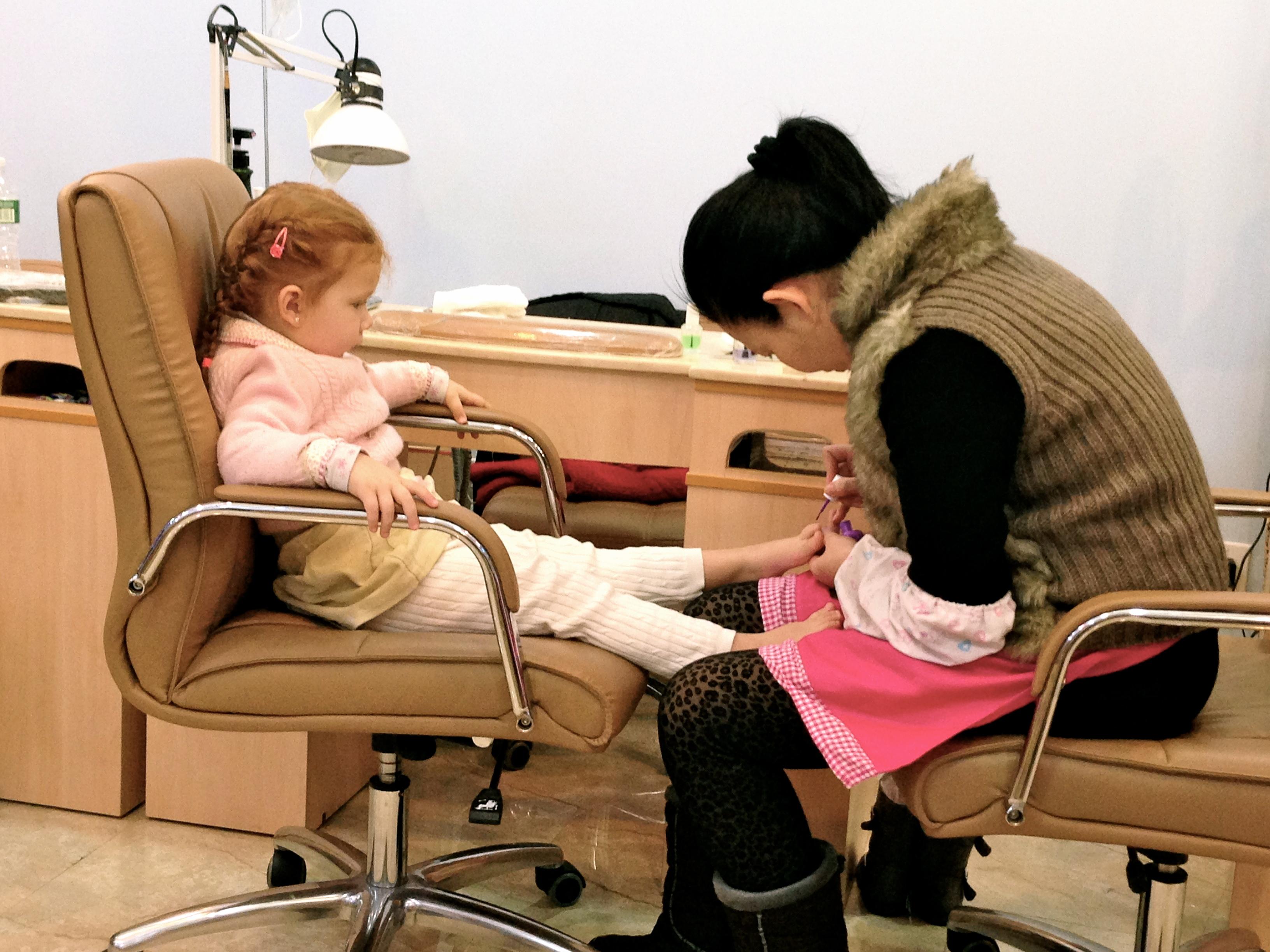 Primeras veces: Pedicure y masaje de pies
