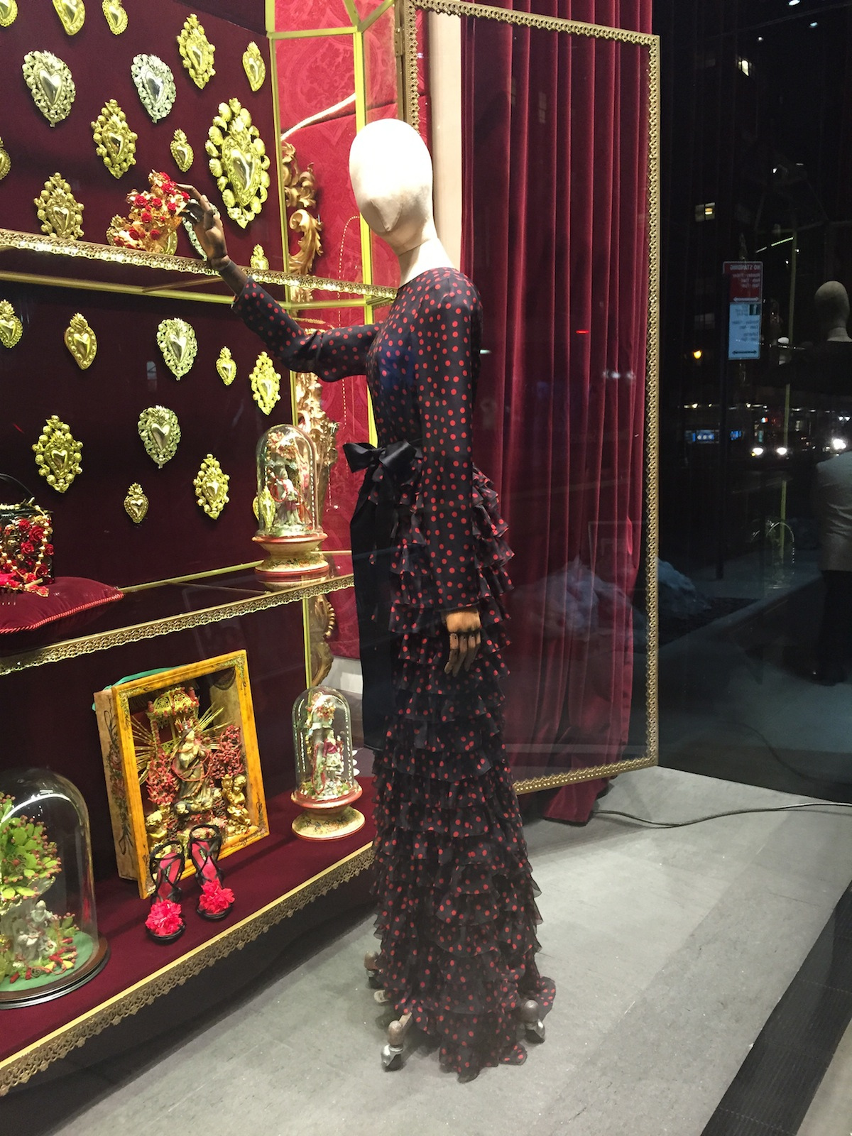 Valentine's at Dolce and Gabbana
