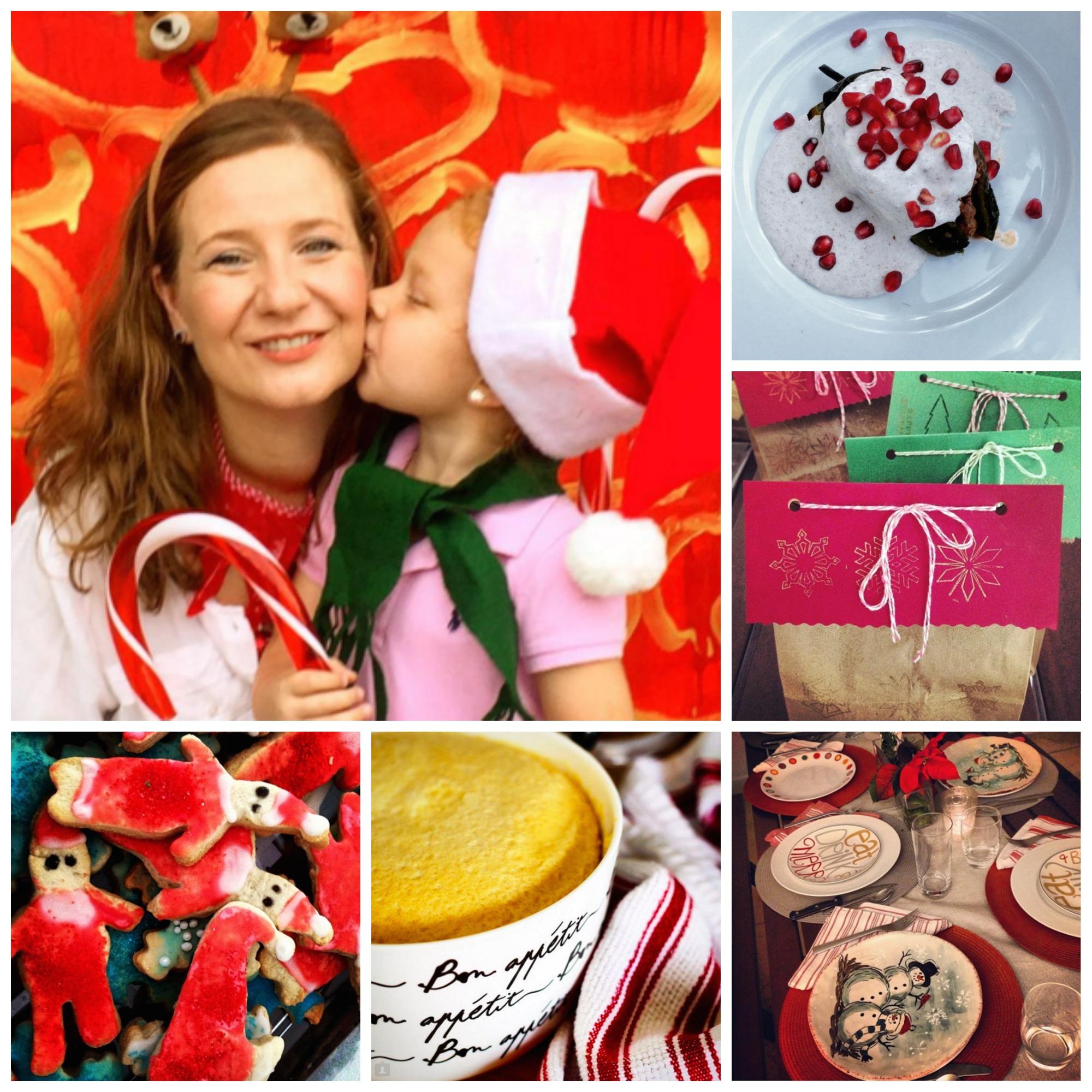 Recetario de Navidad entre amigas / Christmas recipe book among friends