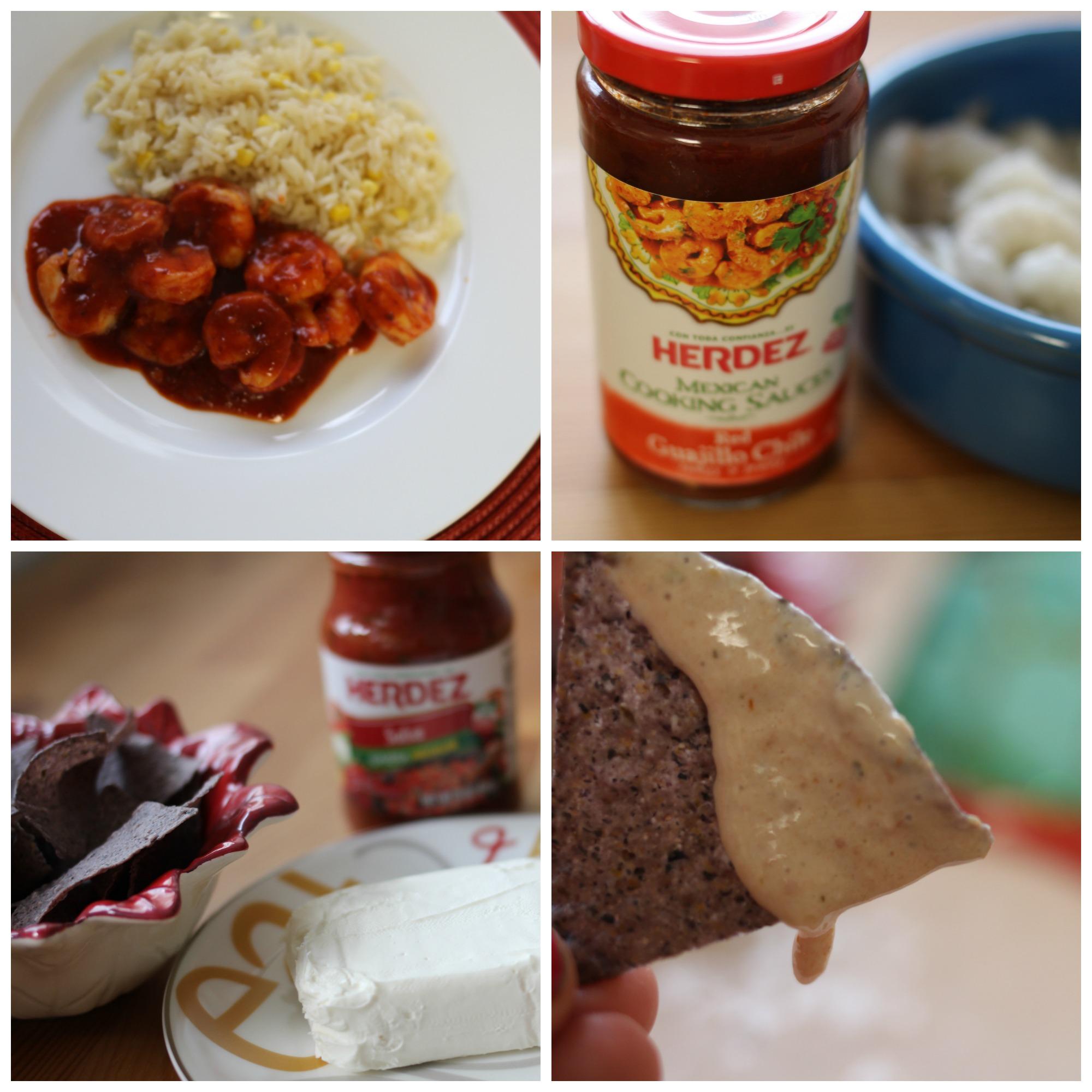 Celebra las Posadas con recetas sencillísimas: Dip casero y camarones al guajillo