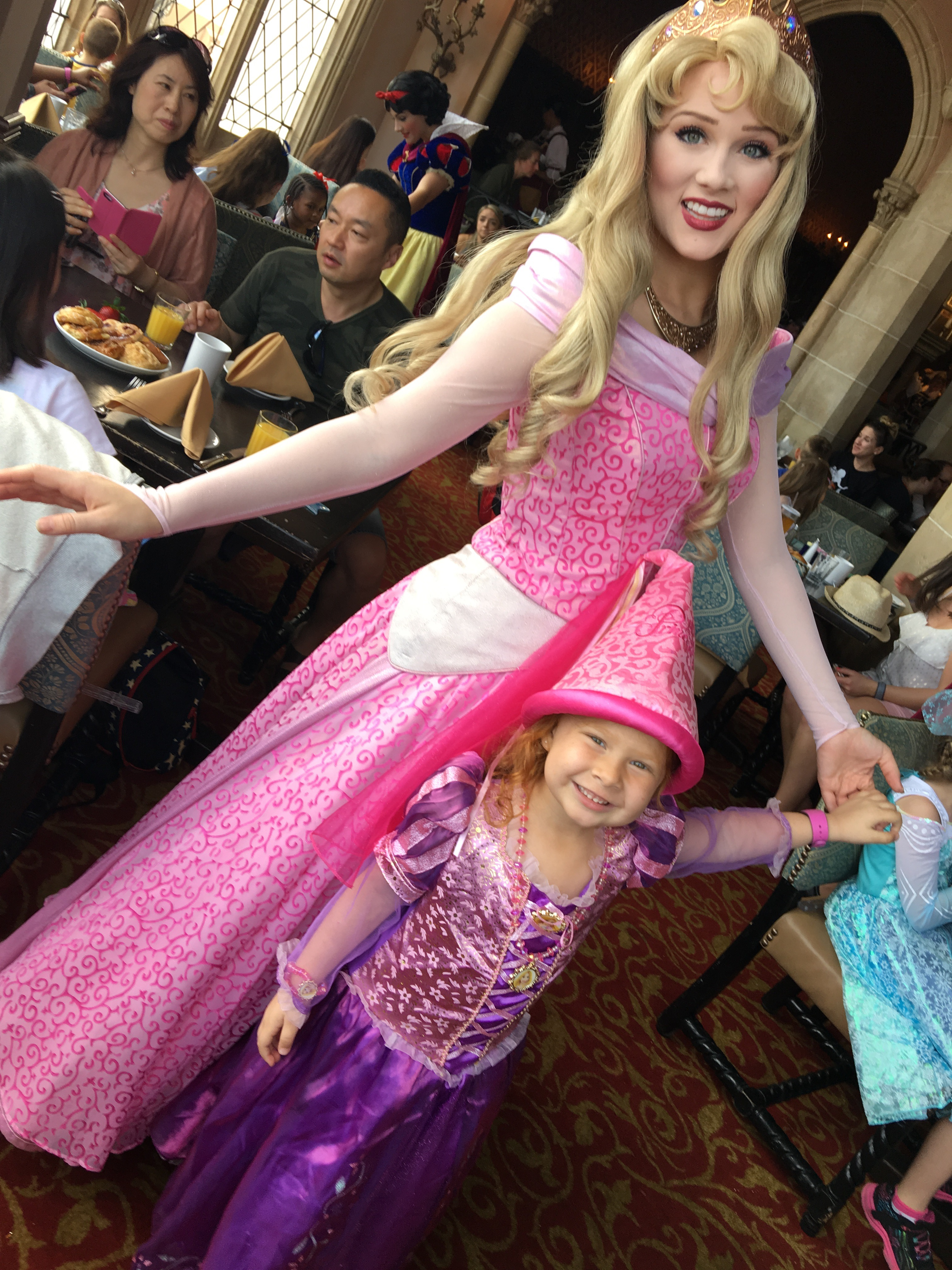 Desayuno con las Princesas de Disney // Brunch with Disney Princesses