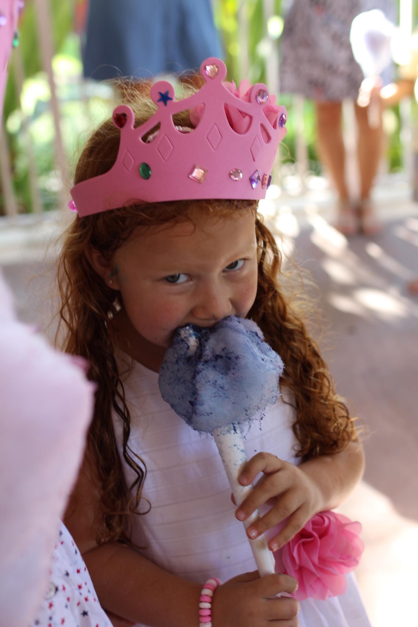 La fiesta de princesas de Cristina